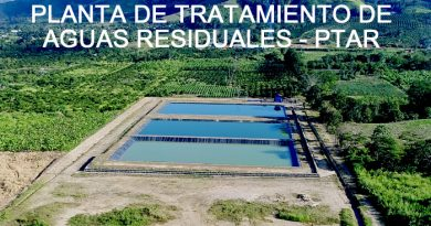 Planta de tratamiento de aguas residuales – PTAR